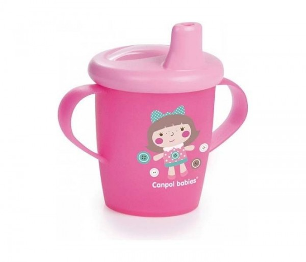 CANPOL BABY SOLJA 250ML NON SPIL 31200 TOYS - PINK