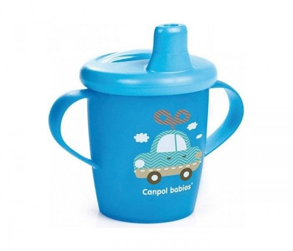 CANPOL BABY SOLJA 250ML NON SPIL 31200 TOYS - BLUE