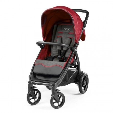 Peg-Perego Kolica booklet 50s vibes red