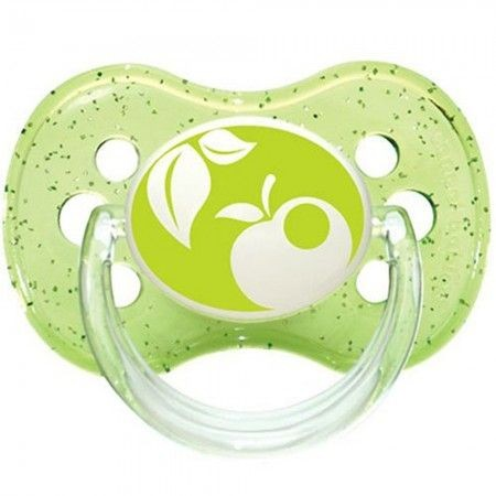 CANPOL BABY VARALICA Charry silicone 0-6 months (1 pc) Nature